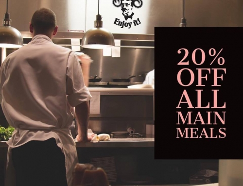 20% Off All Main Meals (Mondays)