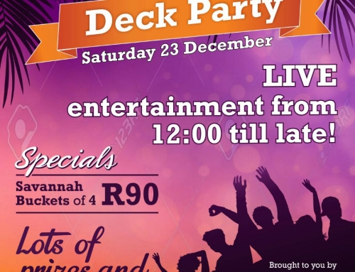 Summer Deck Party – Dec 23