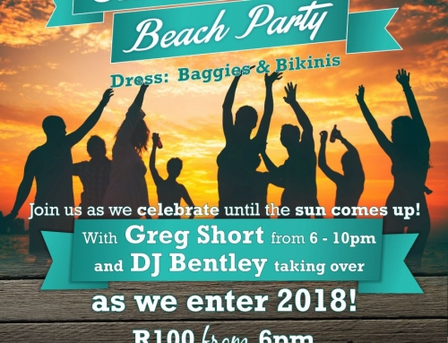 Old Year's Eve Beach Party